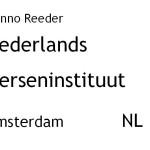 LFEO Amsterdam Reeder